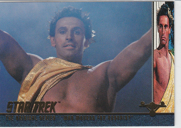 1998 SkyBox Star Trek Original Series Season 2 Profiles P33 EP33.8 Who Mourns for Adonais?