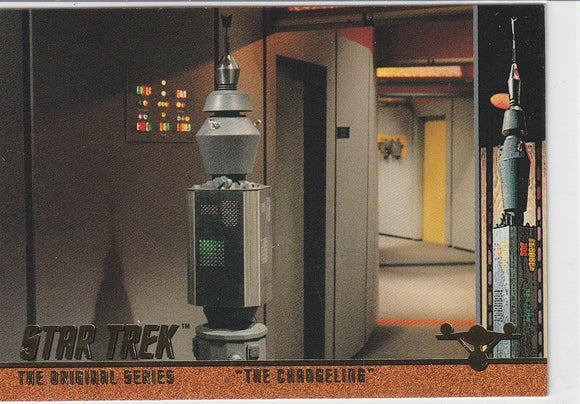1998 SkyBox Star Trek Original Series Season 2 Profiles P37 EP37.8 The Changeling