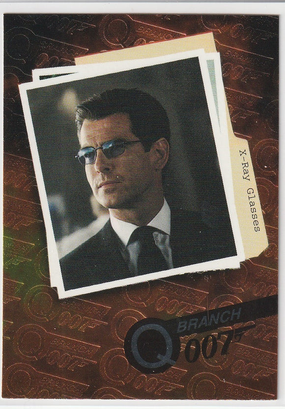 1999 Inkworks James Bond: The World is Not Enough Q Branch Q3 X-Ray Glasses