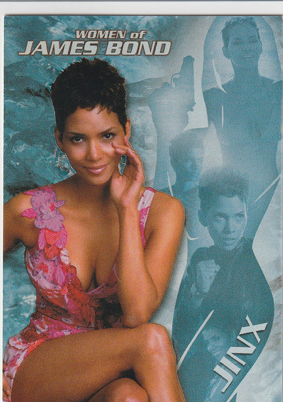 Women of James Bond In Motion Halle Berry as Jinx Insert card J1