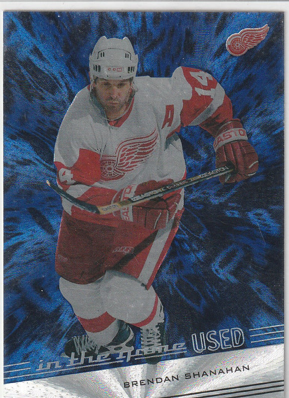 Brendan Shanahan 2002-03 In The Game ITG Used card #23