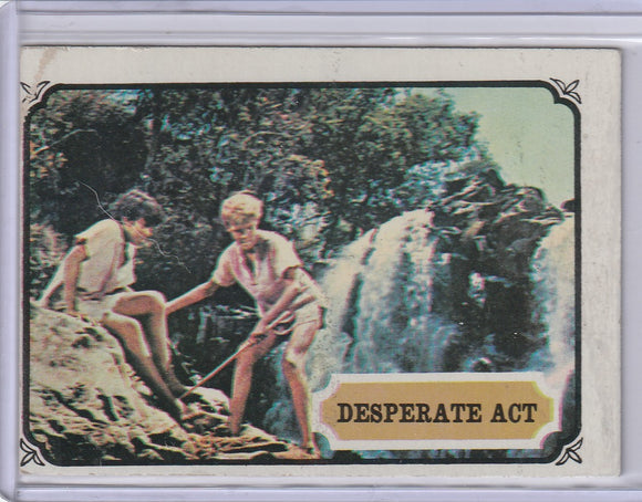 1967 Topps Maya Mysteries of India card #41 Desperate Act