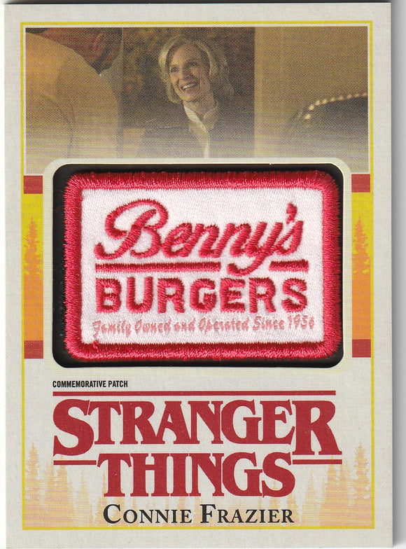 Stranger Things Season 1 Connie Frazier Commemorative Patch card P-FR