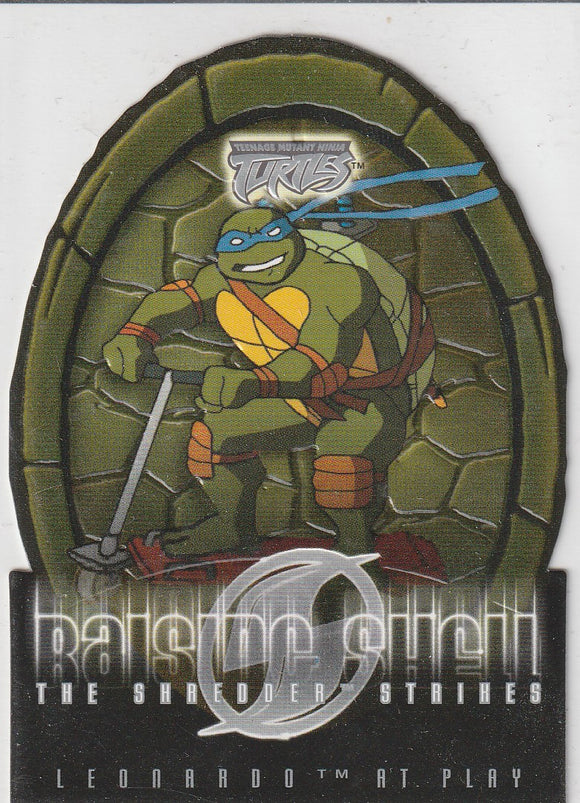 Teenage Mutant Ninja Turtles 2 The Shredder Strikes Raising Shell card 8 of 10 RS