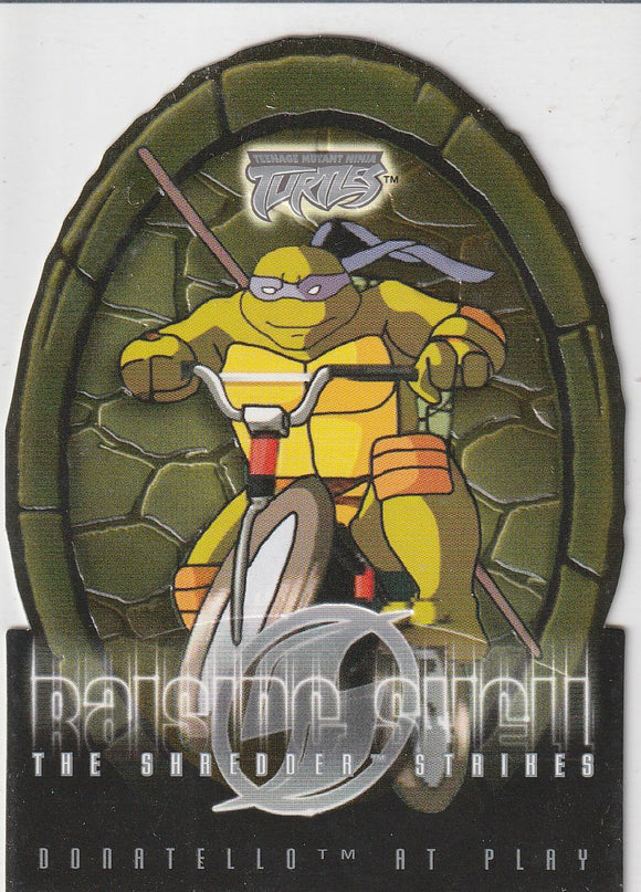 Teenage Mutant Ninja Turtles 2 The Shredder Strikes Raising Shell card 2 of 10 RS