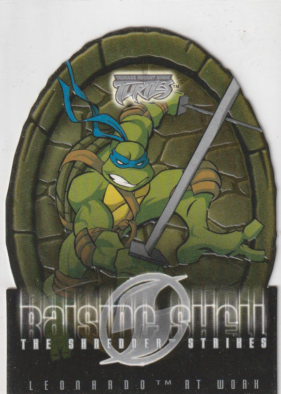 Teenage Mutant Ninja Turtles 2 The Shredder Strikes Raising Shell card 7 of 10 RS