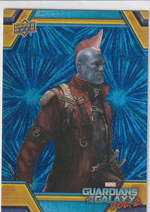 2017 Guardians Of The Galaxy Vol 2 Retail Blue Foil card RB-23 Yondu