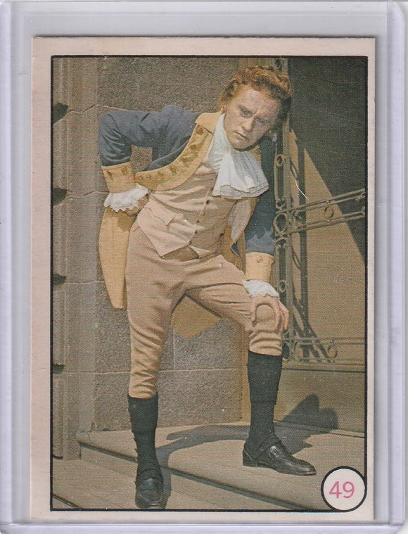 1966 O-Pee-Chee Batman Bat Laffs card #49