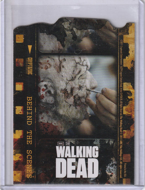 The Walking Dead Season 1 Behind the Scenes Insert card C08