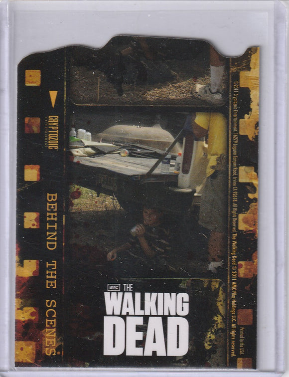 The Walking Dead Season 1 Behind the Scenes Insert card C01