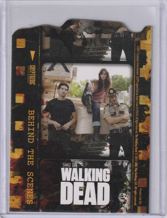 The Walking Dead Season 1 Behind the Scenes Insert card C03