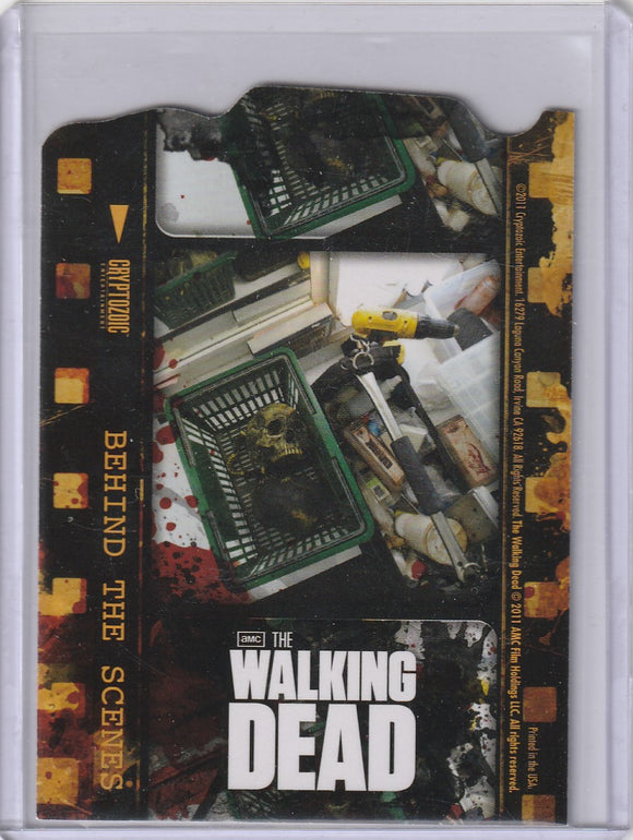 The Walking Dead Season 1 Behind the Scenes Insert card C04