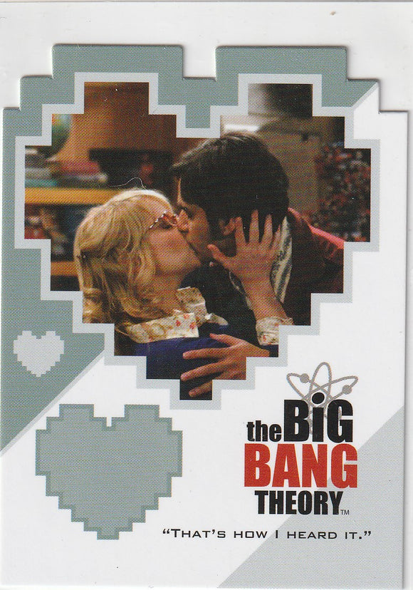 The Big Bang Theory Season 3 & 4 Duos Insert card CPL08 Bernadette and Raj