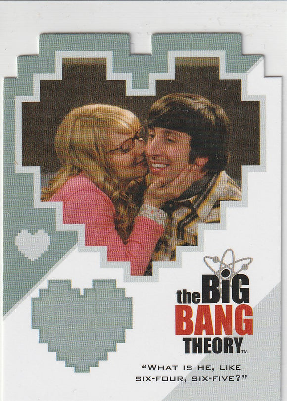 The Big Bang Theory Season 3 & 4 Duos Insert card CPL07 Howard and Bernadette . . . Again