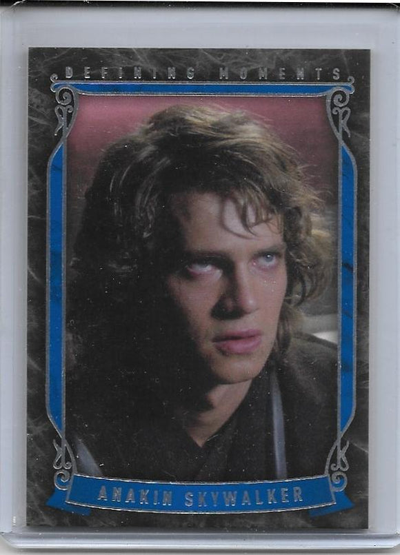 2015 Star Wars Masterwork Defining Moments card DM-7 Anakin