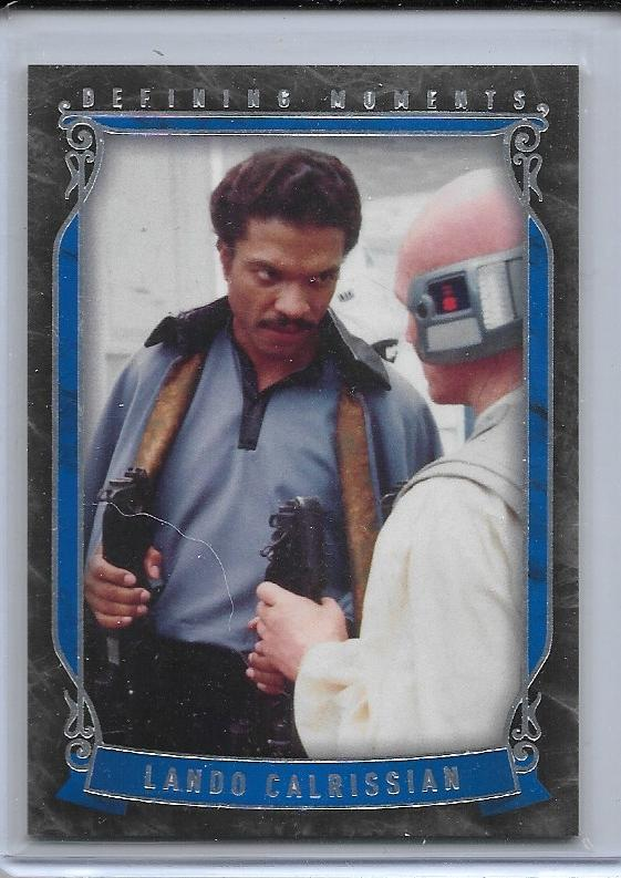 2015 Star Wars Masterwork Defining Moments card DM-5 Lando
