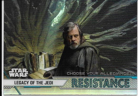 2020 Star Wars Chrome Perspectives Choose Your Allegiance Resistance CR-8