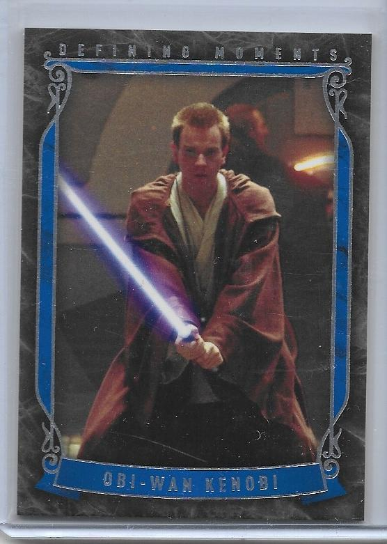 2015 Star Wars Masterwork Defining Moments card DM-8 Obi-Wan