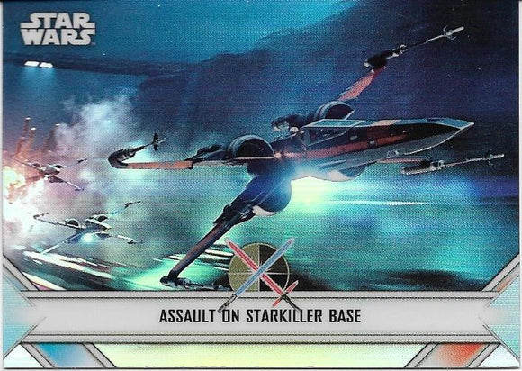 2020 Star Wars Chrome Perspectives Empire At War card EW-5 Assault On