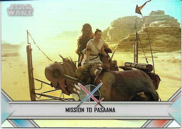 2020 Star Wars Chrome Perspectives Empire At War card EW-15 Pasaana