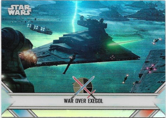 2020 Star Wars Chrome Perspectives Empire At War card EW-19 Exegol