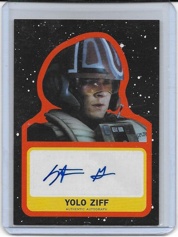 2019 Star Wars Journey to The Rise of Skywalker Stefan Grube Autograph 43/50