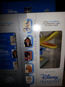 Disney Treasures Series 2 - 4 Pack Box with Vintage Donald Figure