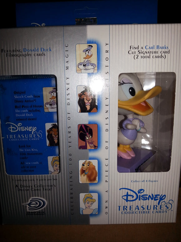Disney Treasures Series 2 - 4 Pack Box with Daisy Duck Figure