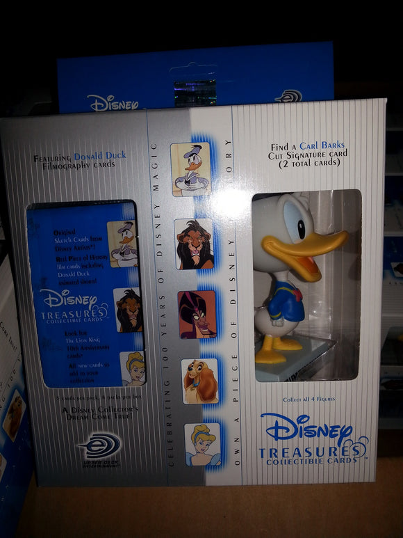 Disney Treasures Series 2 - 4 Pack Box with Millennium Donald Figure