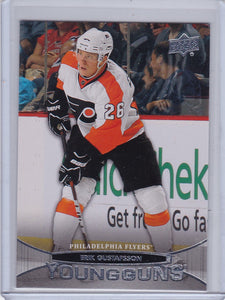 Erik Gustafsson 2011-12 Upper Deck Young Guns Rookie card # 236