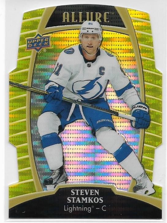 Steven Stamkos 2019-20 Allure card #34 Yellow Taxi Die Cut