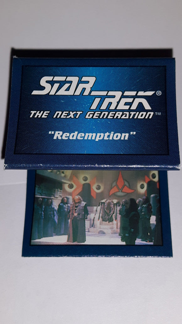 1993 Skybox Hostess Star Trek Next Generation Mini Poster Redemption