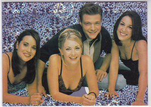 "Sabrina The Teenage Witch Prism Insert card S-1 ""On one of Sabrina's birthdays"""