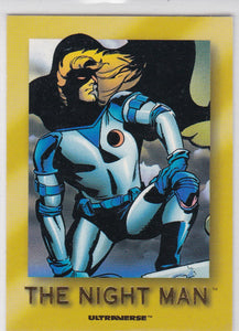 Ultraverse Star Rookies insert card S1 The Night Man