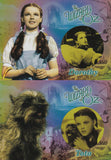 The Wizard Of Oz Before and After Insert set B&A1 + B&A2 Dorothy and Toto