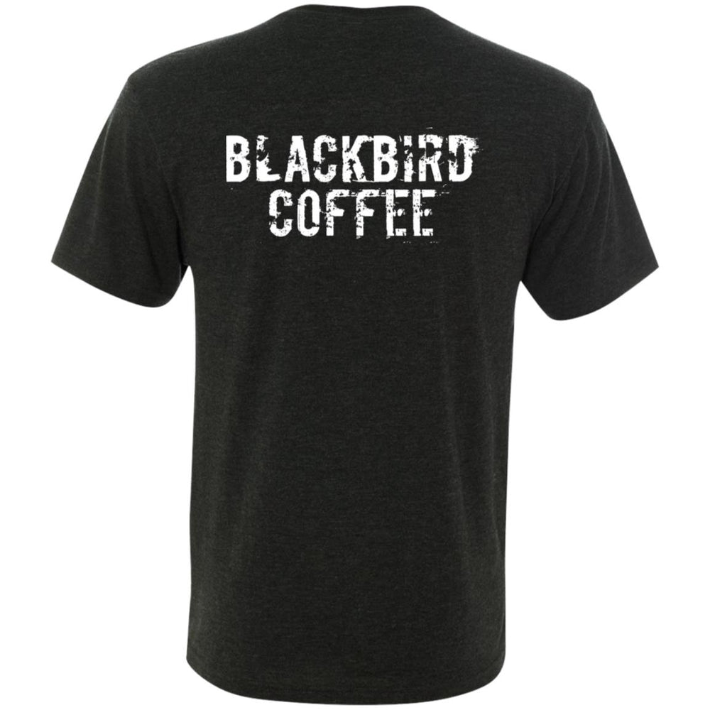 Men's Triblend V-Neck T-Shirt - Coffee