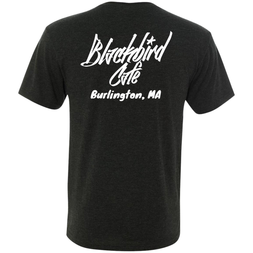 Men's Triblend V-Neck T-Shirt - Burlington