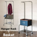 U.S. MAIL clothes rack