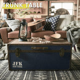 TRUNK TABLE - BLUE