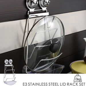 E3 STAINLESS STEEL LID RACK SET