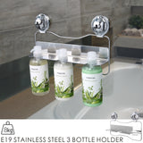E19 STAINLESS STEEL 3 BOTTLE HOLDER
