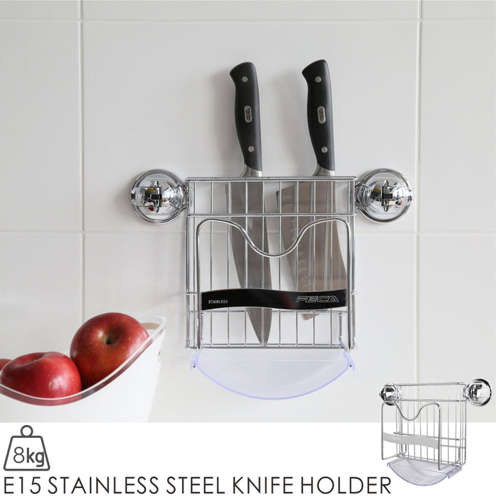 E15 STAINLESS STEEL KNIFE HOLDER