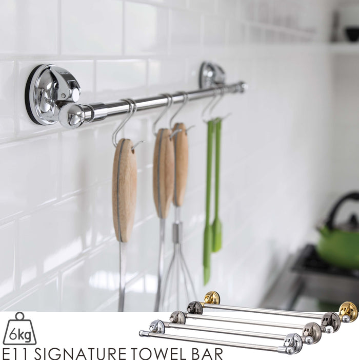 E11 SIGNATURE TOWEL BAR