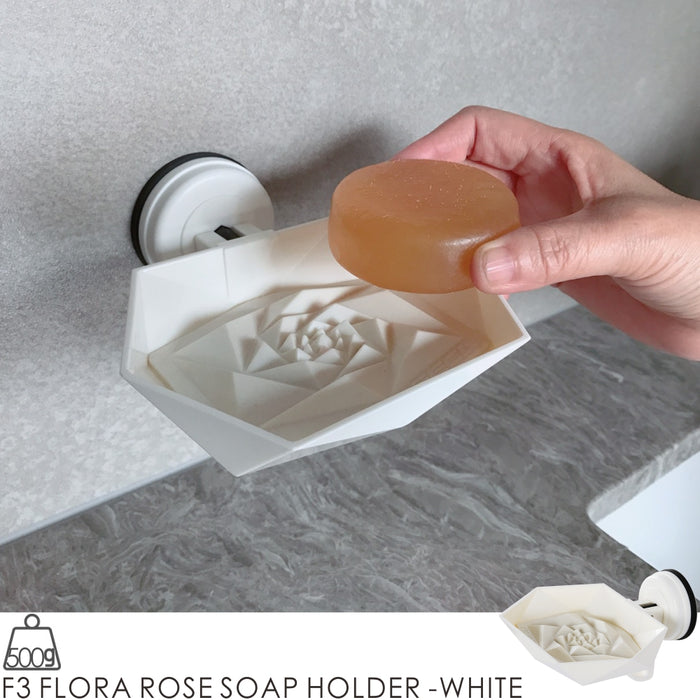 F3 FLORA ROSE SOAP HOLDER