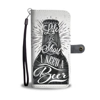 I Need A Beer Wallet Phone Case - gaatshirts.com