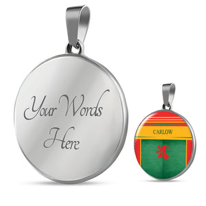Carlow Round Pendant Necklace - gaatshirts.com