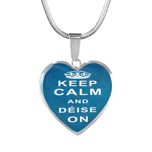 Deise On Heart Necklace or Bangle - gaatshirts.com