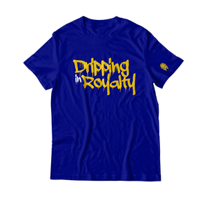 W.A.P Drippin In Royalty T-Shirt - Blue