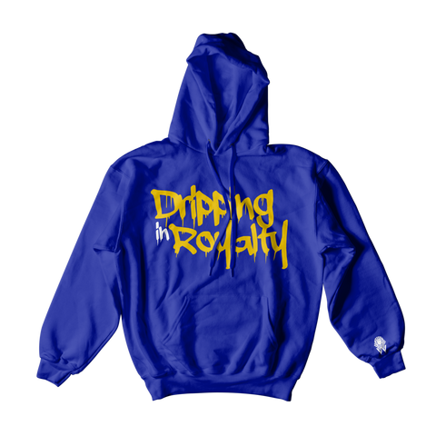 W.A.P Drippin In Royalty Hoodie - Blue