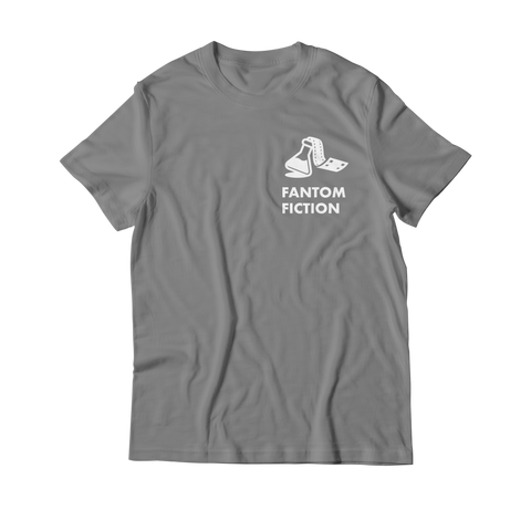 Arcade Tokens Fantom Fiction T-Shirt - Grey